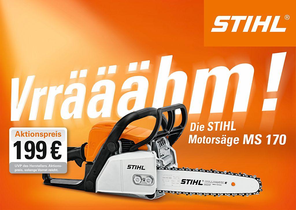 Stihl MS 170 Aktionspreis