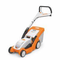 Stihl Elektro Rasenmäher RME 339 C auf weißen Hintergrund